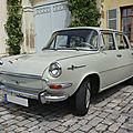 SKODA 1000 MB berline 1967 Ludwigsburg (1)