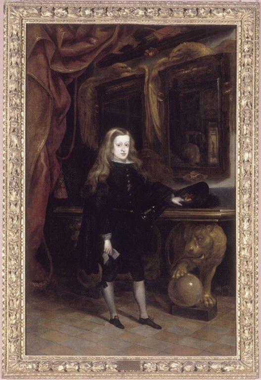 Portait de Charles II (roi d'Espagne)