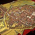 Plan-relief de la ville d'arras