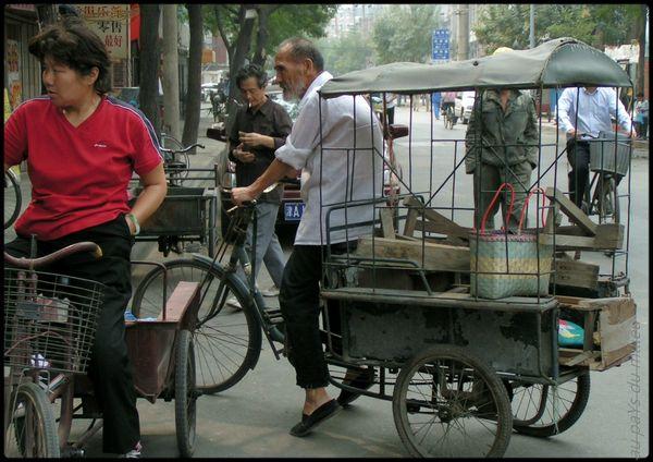 travelling de vies rue de Tianjin 2005