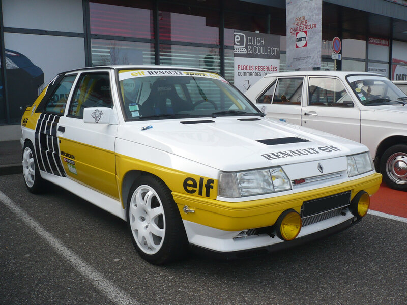 RENAULT 11 turbo berline 3 portes Mulhouse (1)
