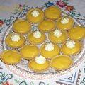 Tartelettes aux citrons au lemon curd parvé ou halavi