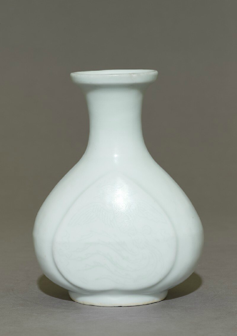 Vase with phoenix, Yongle period, 1400 - 1425, Ming Dynasty (1368 - 1644)