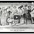 Hubertine auclert la première suffragette - extrait du magazine