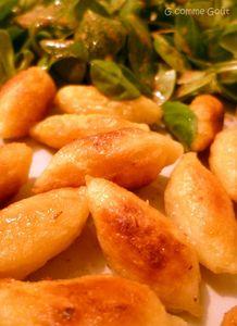 quenelles farine