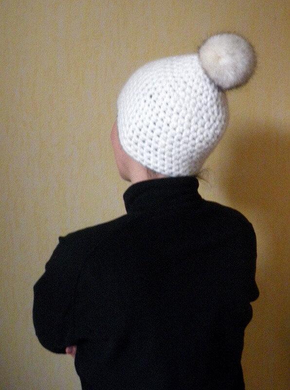 Bonnet blanc porté (6)