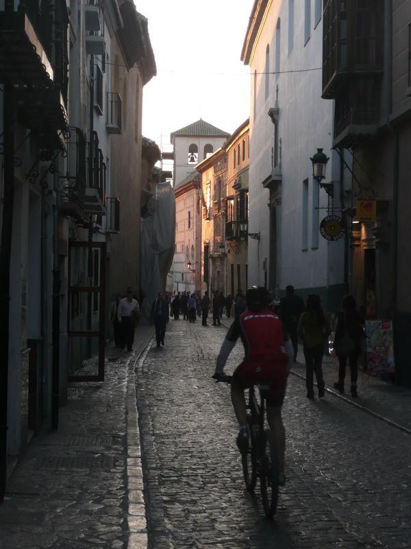Grenade, calle du centre-ville