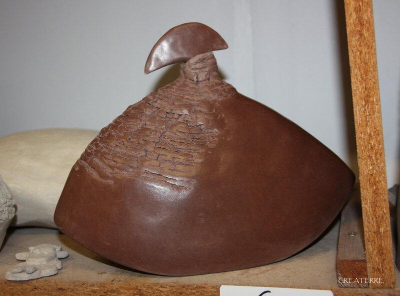 poterie enfumée