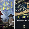 Twenty-one days, d'anne perry