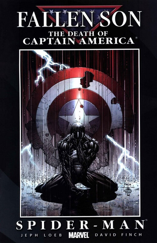 fallen son the death of captain america 04 spiderman