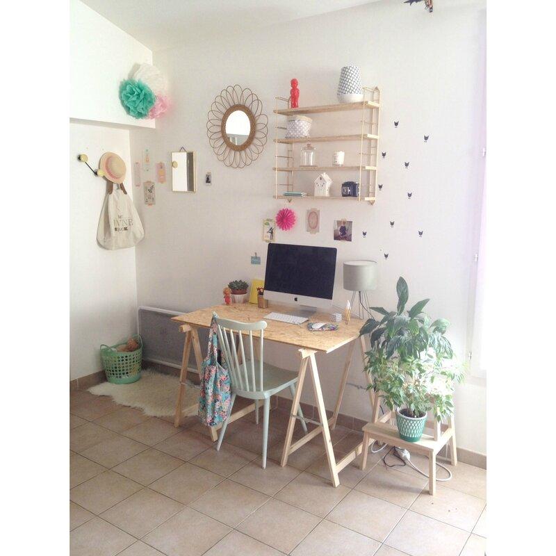 le coin bureau ouvrir la cage aux oiseaux. Black Bedroom Furniture Sets. Home Design Ideas