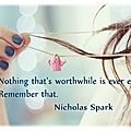 A message in a bottle - nicholas sparks