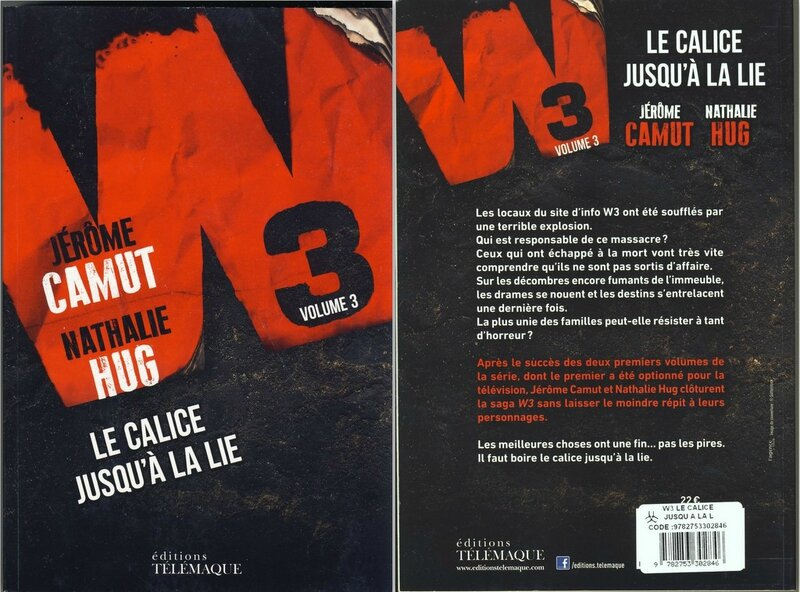3- Le calice jusqu'à la lie - Jerome Camut-Nathalie Hug
