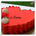 Entremets rouge passion