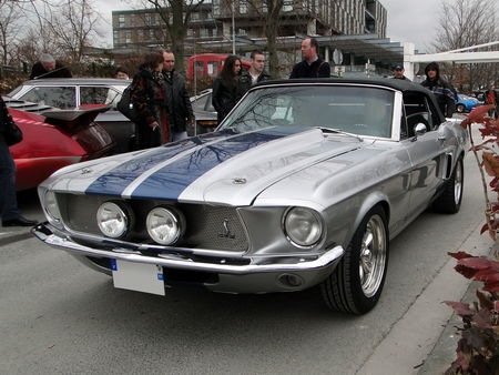 FORD Shelby Mustang GT 350 Convertible 1967 Salon Champenois du Vehicule de Collection de Reims 2010 1