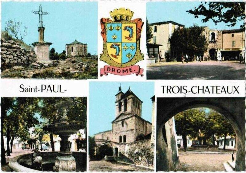 CPSM Saint Paul Trois-Châteaux