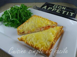 croque monsieur au saumon 05