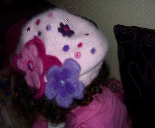 beret rose