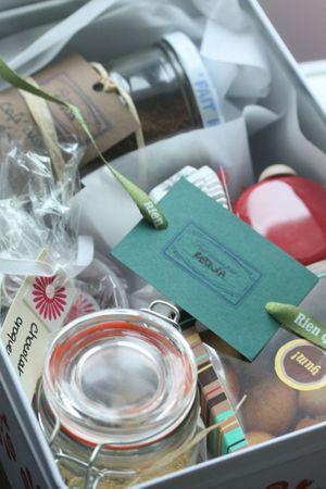 cadeau gourmand fait maison blog chez requia