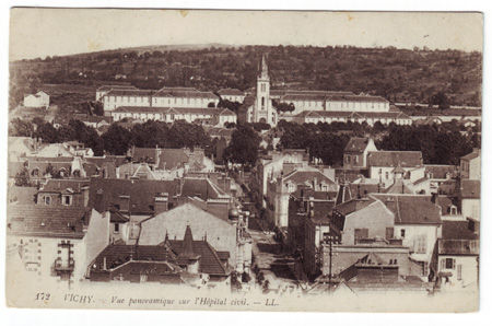 03 - VICHY - Vue panoramique sur l'hopital civil
