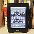 The weight of the world - david joy (2017)