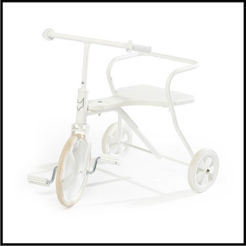 smallable tricycle metal 3 blanc