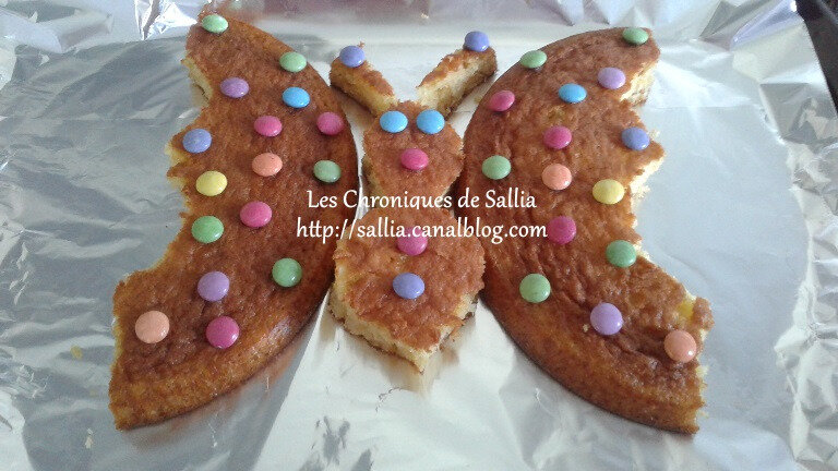 gateau papillon miss K