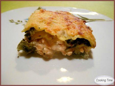 lasagnes saumon épinards 2