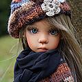 L'automne de missy , bjd de kaye wiggs