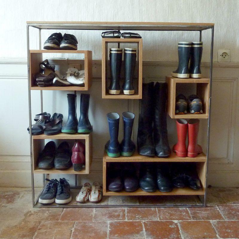 Petit meuble chaussures un week end la maison Petit meuble a chaussures