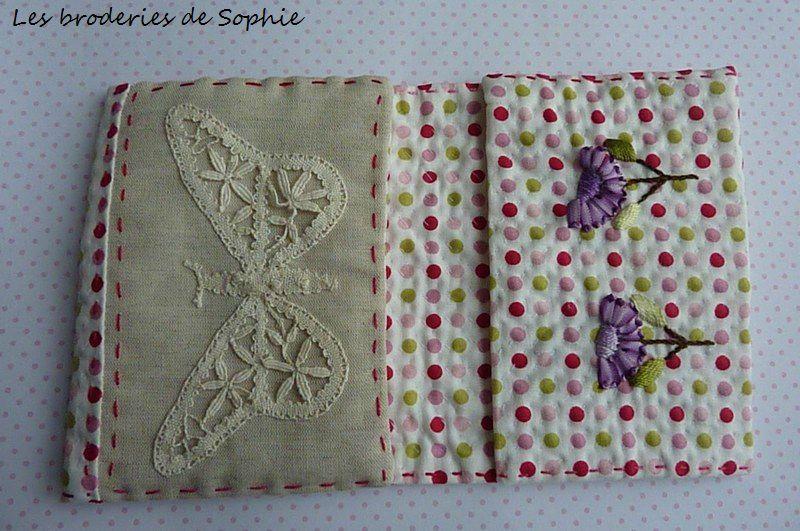 pochette double fleur et papillon (4)