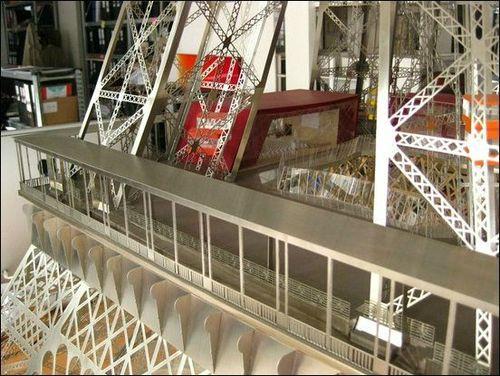 Projet de relifting du premier étage de la Tour Eiffel
