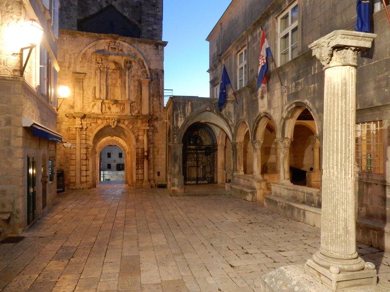 Korcula, la cité médiévale, lundi 19 octobre 2020