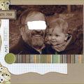 Tendre duo : arthur et son papy