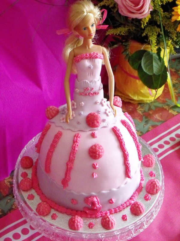 Gateau Poupee Barbie Marie S Cooking Le Blog