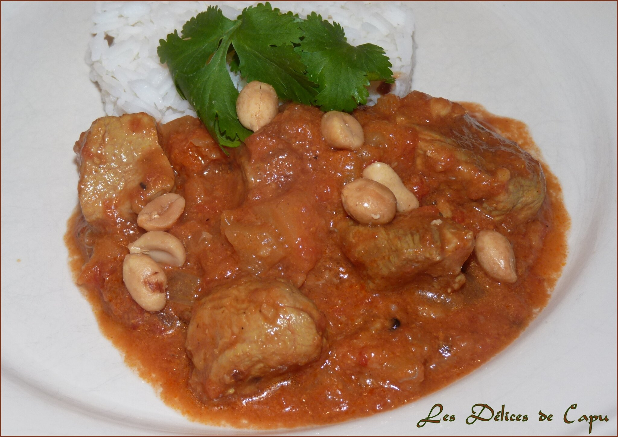 Curry de porc aux fruits3