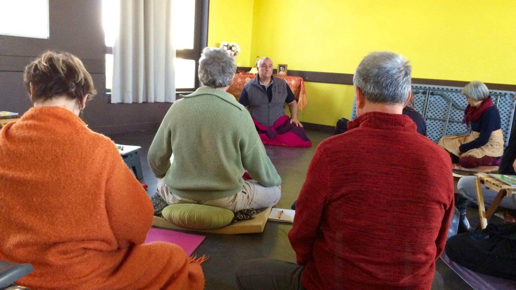 Atelier d'initiation à la méditation, guidé par Lama Nyima : le samedi 06/10/2018 de 10h30 à 12h00