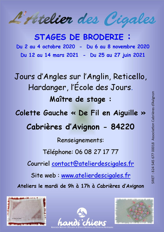 Cigales_afficheStage_2020-2021