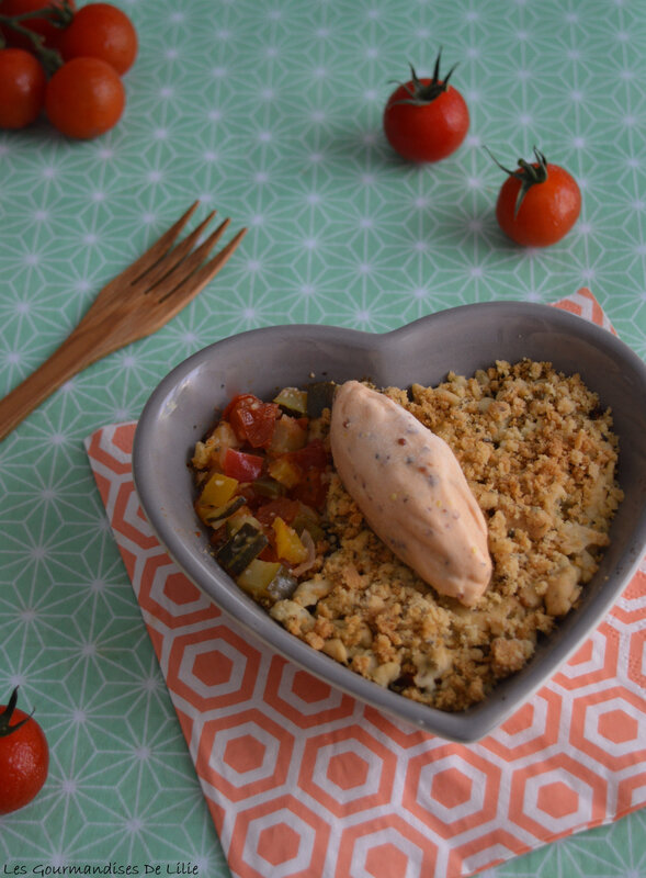 crumble glace moutarde L