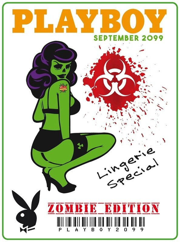 Zombie - zombie outbreak - Zombie party - Zombie response - Zombie hunter - Zombie team - biohazard - Printables - labels - Halloween - Molon-labe - MolonLabe - Plaiboy - Pin up