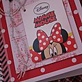 Minnie party... les cartes...