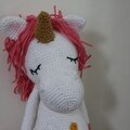 Licorne unicorn crochet