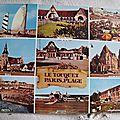 Touquet - Paris plage datée 1983