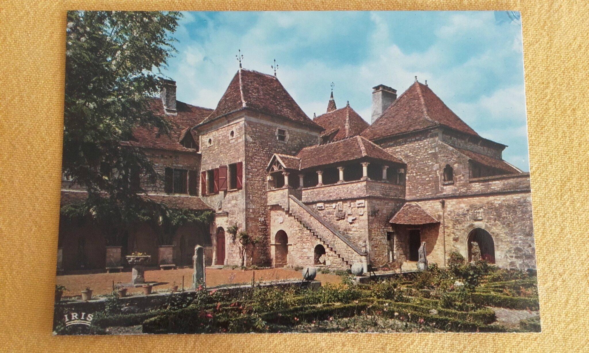 Loubressac - vieux manoir gothique