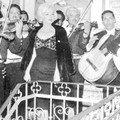 25/02/1962 marilyn à une fête mexicaine