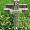 Soldat Paul DUHOUX