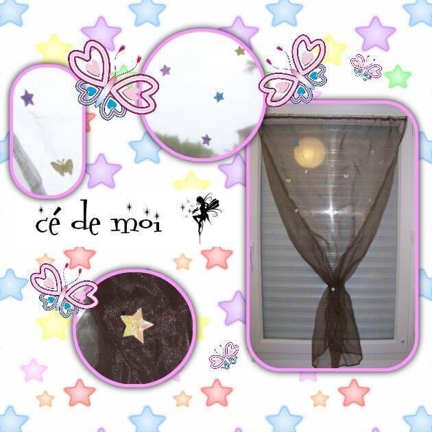 14-05-09 rideau pour la chambre de bébé - défi mai des Sérial défieuses En mai, fais ce qu'il te plait