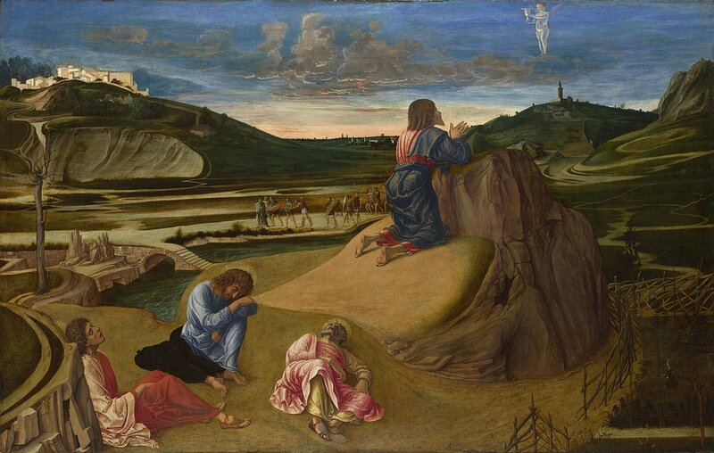 Giovanni Bellini, 'The Agony in the Garden', about 1465