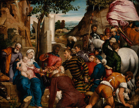 """""""Titian and the Golden Age of Venetian Painting ..."""
