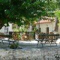 Zante, place du village